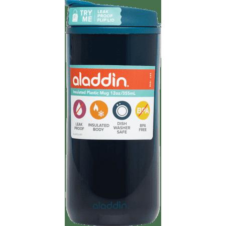 Aladdin Travel Mugs - Aladdin 12oz Insulated Plastic Mug Blue