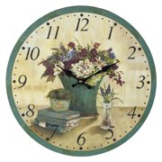 Elk Lighting Bouquet 13 in. Wall Clock