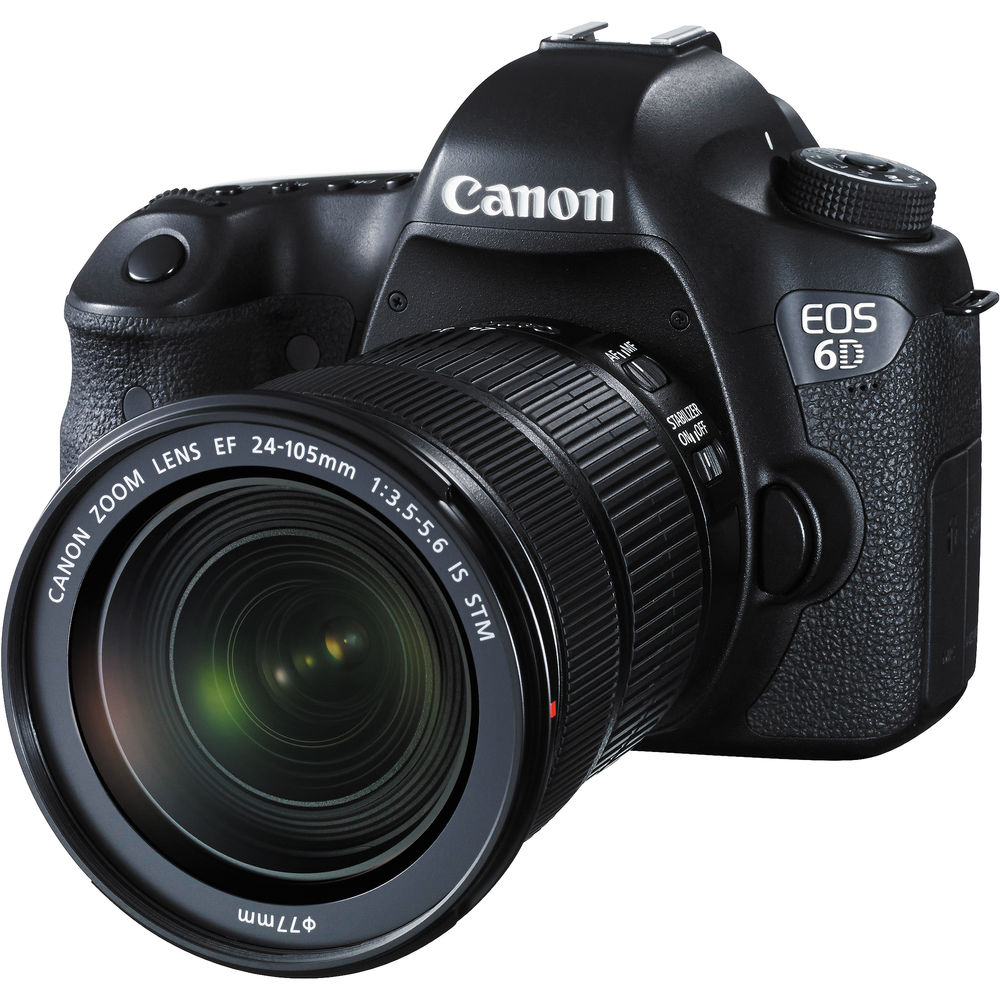 Canon EOS 6D 20.2MP Digital Camera with EF 24-105mm IS STM lens