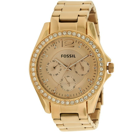 Fossil Riley Multifunction Rose Gold Ladies Watch Es2811