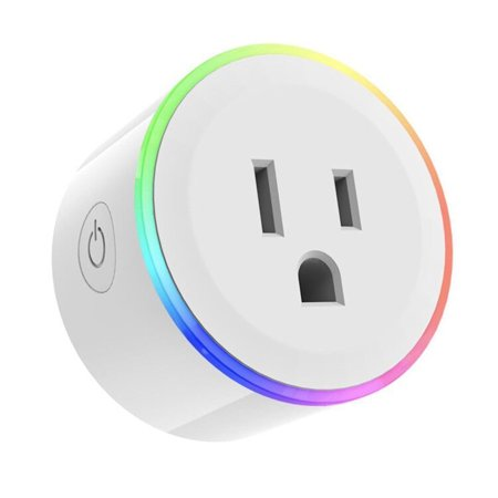 C368 Mini Smart Socket Electric US Plug Power Adapter Adaptor LED Dimmable Light WiFi APP Remote Control with Alexa Smart Google Home Voice Control Socket