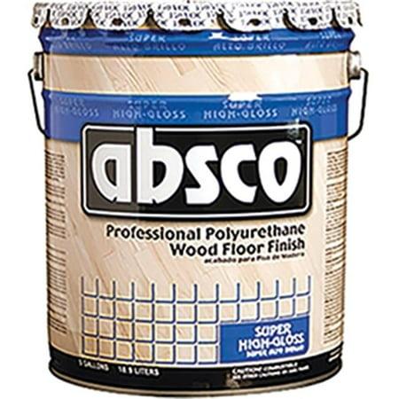 Absolute Coatings 89505 Absco Polyurethane Wood Floor Finish, Gloss,