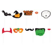 Halloween Photo Booth Props, 10pc