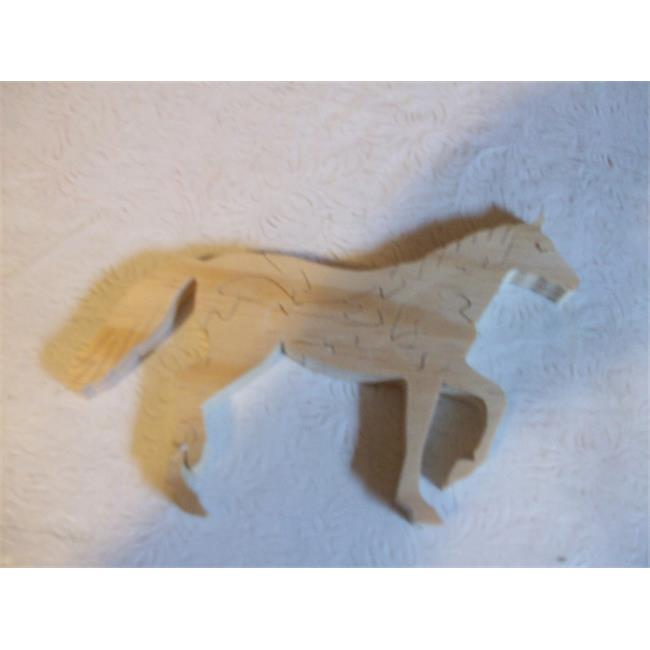 Fine Crafts 1361PUZ Wooden Horse jigsaw puzzle