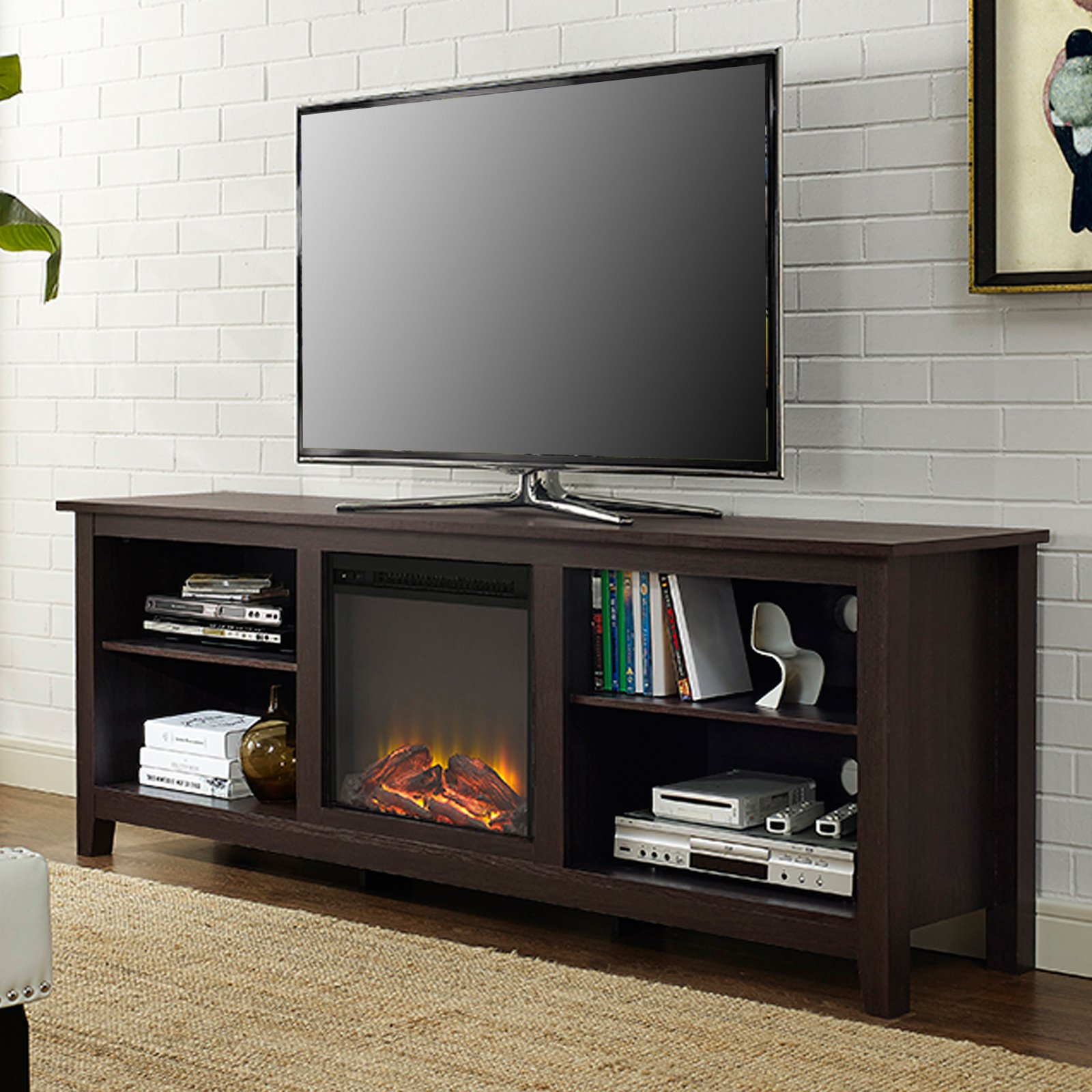 Belham Living Richardson 70 in. Fireplace TV Stand