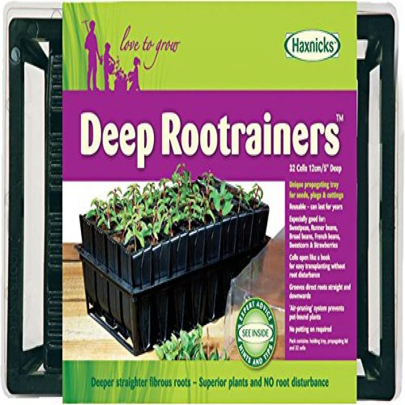 Haxnicks Strawberry /& Herb Patio Planter Tub 2 Pack