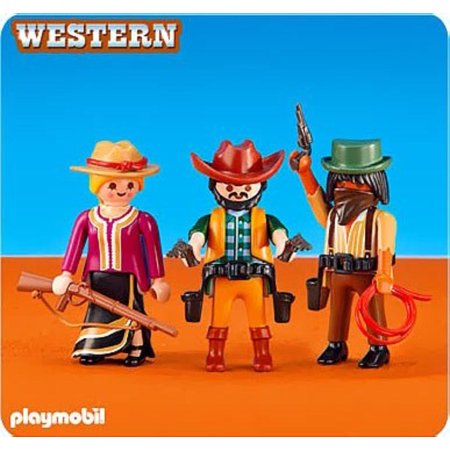 Add-On Series - 2 Cowboys and Cowgirl, This item is part of the Playmobil Direct Service Range (Add-on Series). By PLAYMOBIL](Cowgirl Items)