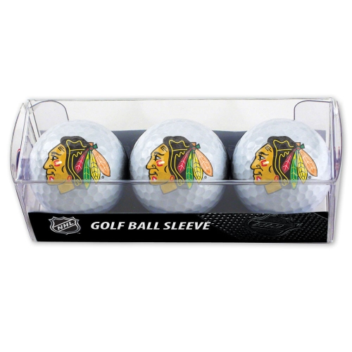 Chicago Blackhawks McArthur 3 Logo Golf Ball Sleeve - No Size