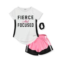 9e40dcdf09a8b Product Image Hind Girls' 2-Piece Shorts Set Outfit with Scrunchie
