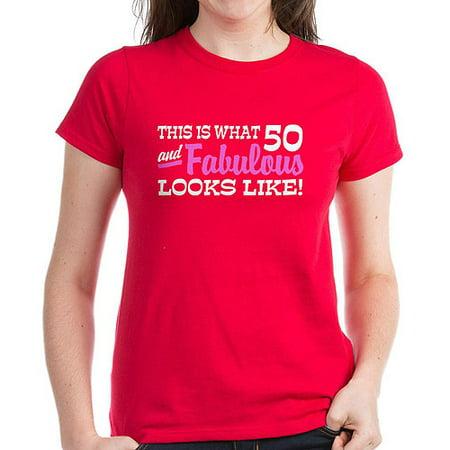 CafePress - Funny 50Th Birthday - Women's Dark T-Shirt