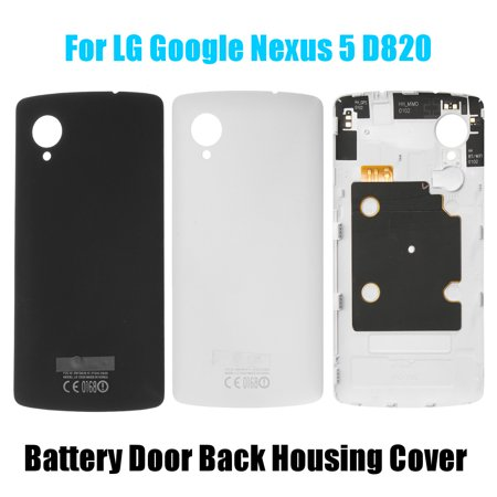 Full Housing Cover Case - Battery Door Back Housing Cover Case with NFC For LG Google Nexus 5 D820 D821