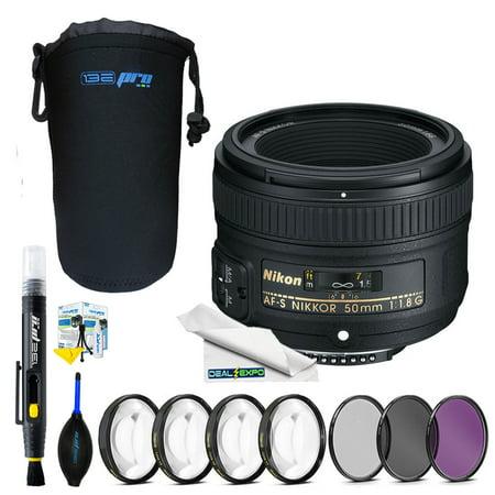 Nikon AF-S NIKKOR 50mm f/1.8G Lens + Expo Advanced (50mm 1-8 G Nikon Lens Price In Pakistan)