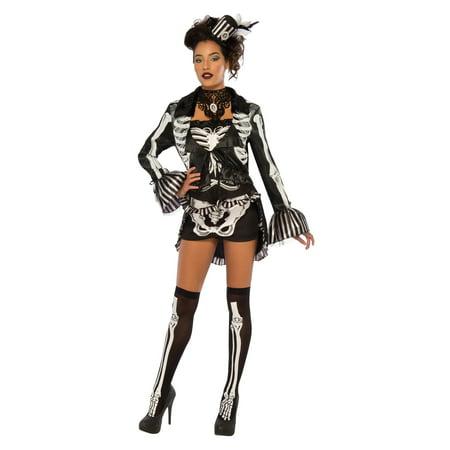 Elegant Skeleton Womens Costume - Victorian Halloween Costumes Women