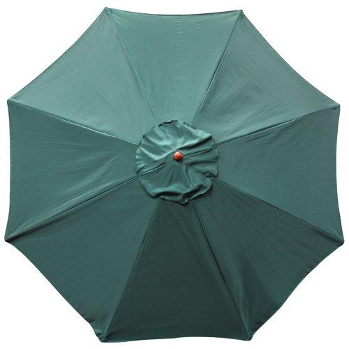 9' Wooden Market Umbrella by Generic