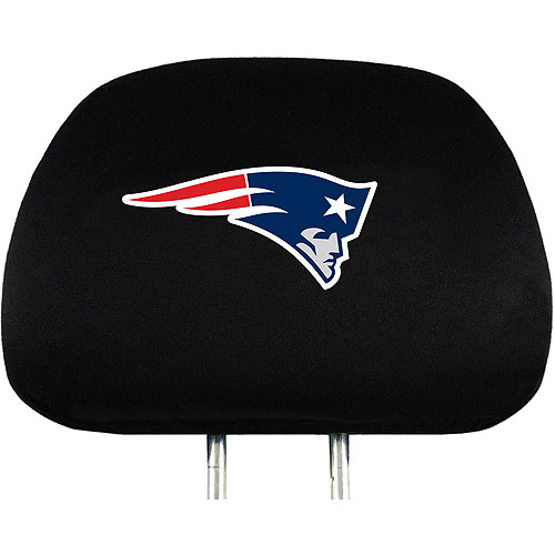 New England Patriots NFL Head Rest Cover