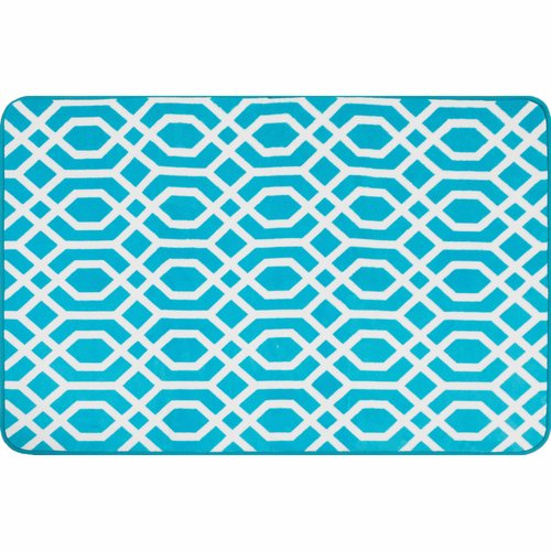 "your zone foam geo print rug, 2' 6"" x 3' 10"""