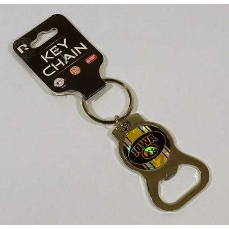 Iowa Hawkeyes NCAA Kaleidoscope Bottle Opener & Key Chain