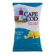 Cape Cod Kettled Cooked Potato Chips Sea Salt & Vinegar, 8.0 OZ