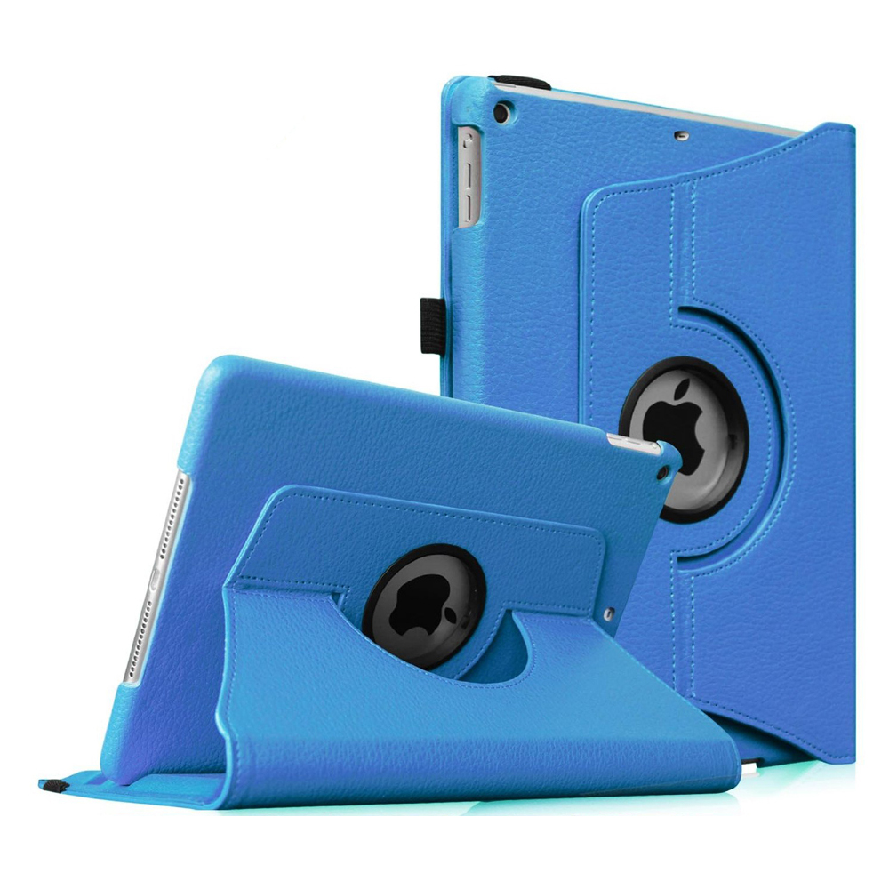iPad mini 3 / iPad mini 2 / iPad mini Rotating Case - Fintie Multi-Angle Stand Smart Cover with Auto Sleep/Wake, Blue
