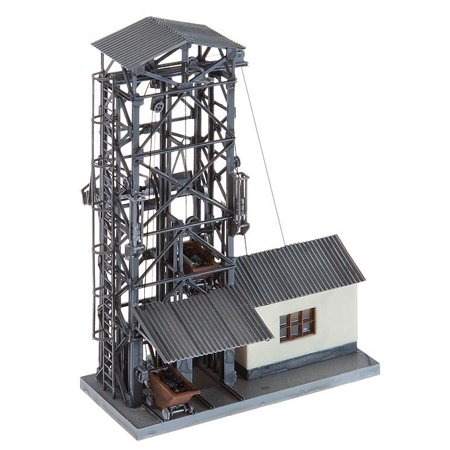 Faller HO Scale Building/Structure Kit Coal Lift for Steam Engines -