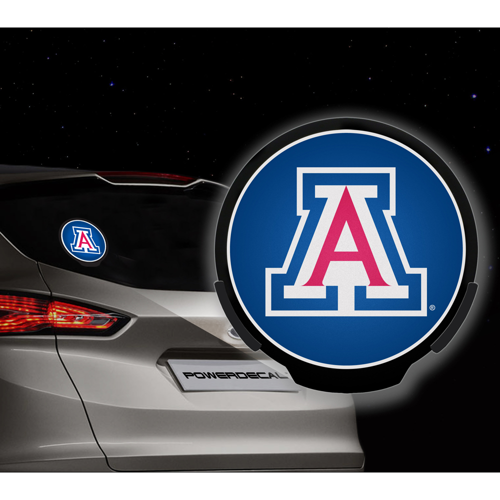 Arizona Wildcats NCAA Power Decal by Rico Industries