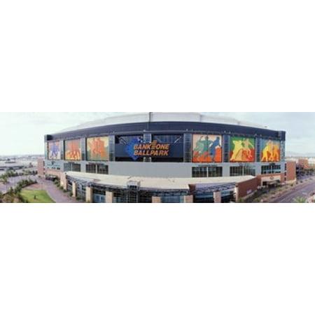 Halloween Store Phoenix Az (Bank One Ballpark Phoenix AZ Canvas Art - Panoramic Images (15 x)