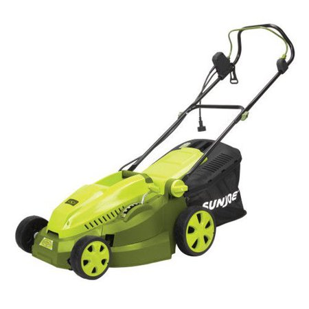 Sun Joe MJ402E Electric Lawn Mower | 16 inch · 12 (Best Commercial Riding Lawn Mower)