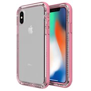 LifeProof NEXT Drop Proof Series Case for iPhone Xs and X, Cactus Rose