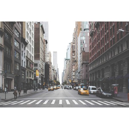 Canvas Print Streets City Downtown New York Roads NYC Stretched Canvas 10 x 14](Dream Downtown Nyc Halloween)