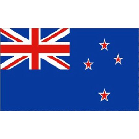 4x6 New Zealand Flag NZ Banner Country Pennant Large ()