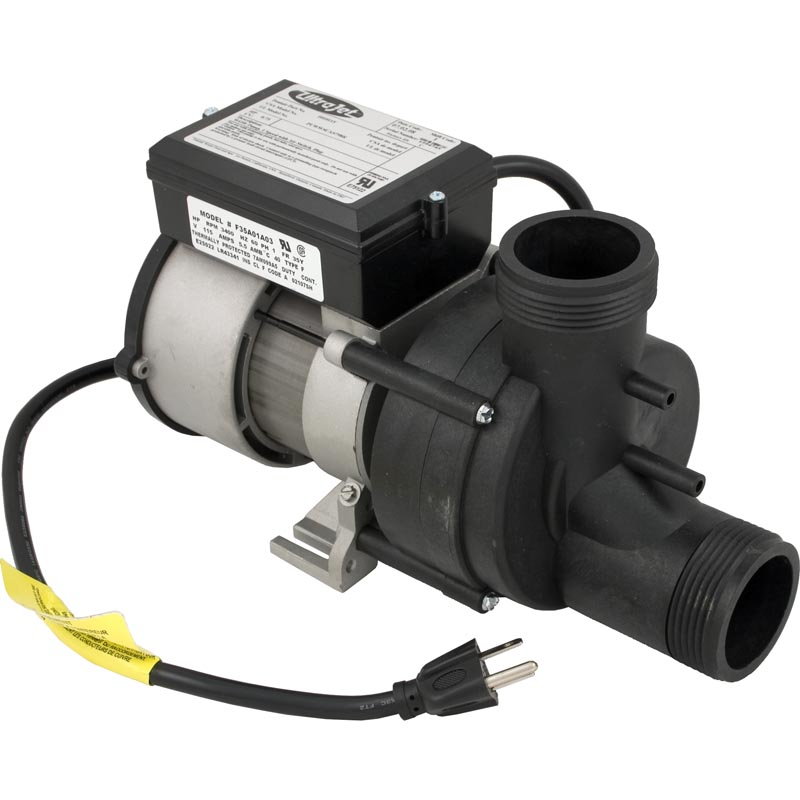Pump, Bath, BWG Vico WOW, 5.5A, 115V, w/Air Switch & Cord...