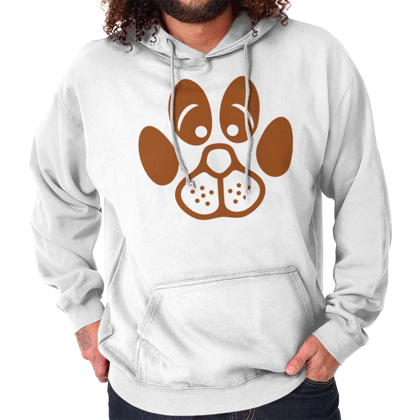 Toddler Boys Girls Pullover Hoodie Fleece Paw Print Heart Dog Cat Coat