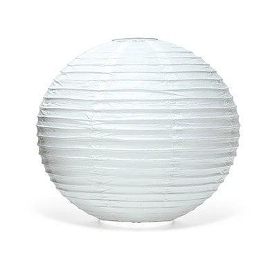 White Round Paper Lanterns - Large](Large Paper Lanterns)