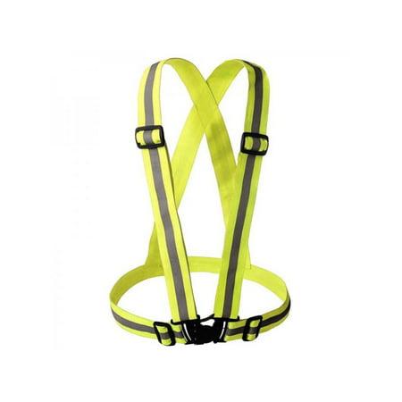 Topumt Men Women Hi-Vis High Visibility Safety Reflective Vest For Night