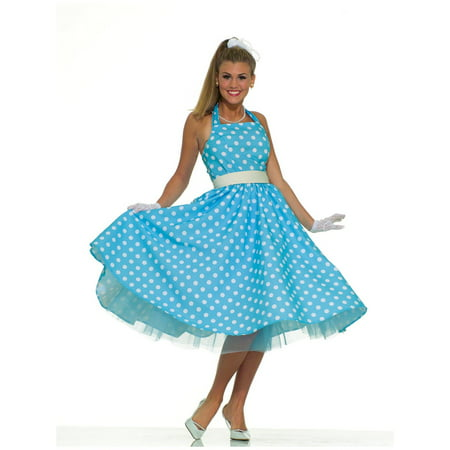 Womens 50'S Prom Dress Costume (Promo Costumes)