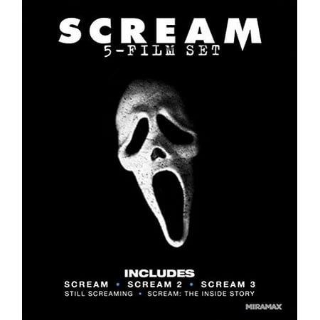 Scream 4-Film Collection (DVD) (Scream Villain)