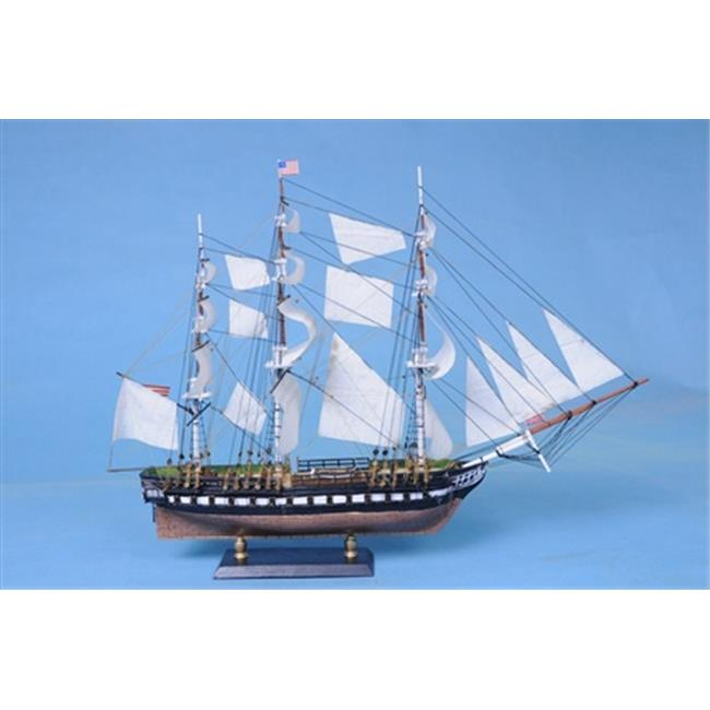 Handcrafted Model Ships Constitution 20 Limited USS Constitution Limited 20 in. Decorative Tall Model Ship by Handcrafted Model Ships