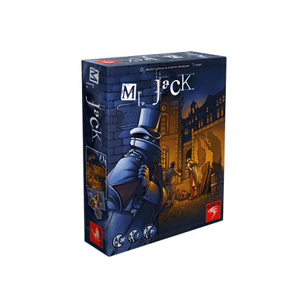 Mr. Jack (Revised Edition) Strategy Board - Old Fashioned Jacks Game