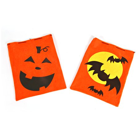 Pull String Halloween Candy Bag - Pull String Bags