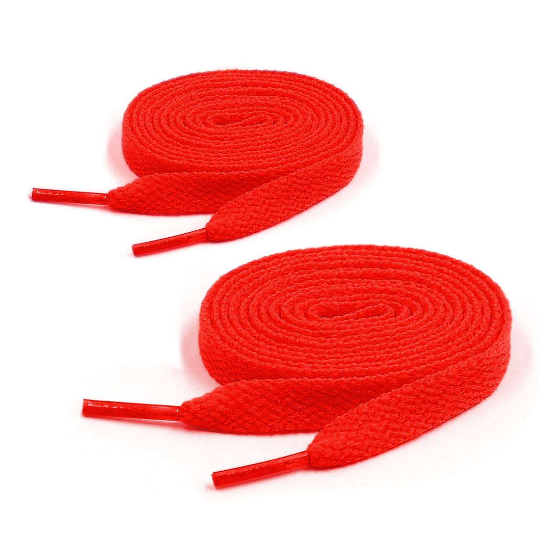Buy 1 Get 1 Free | Unisex 123cm Length Sneaker Flat Bootlaces Shoelaces Strings Laces Red