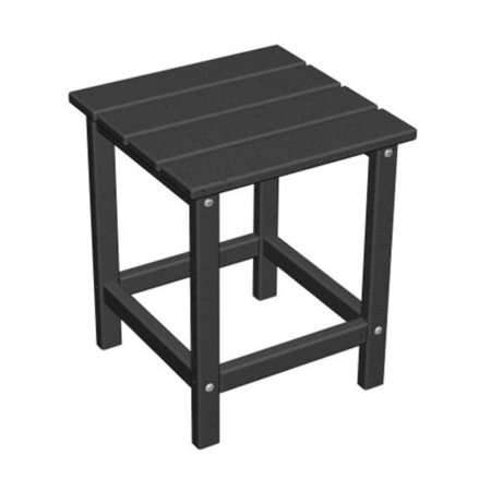 POLYWOOD® Long Island Recycled Plastic 18H in. Outdoor Side Table ()