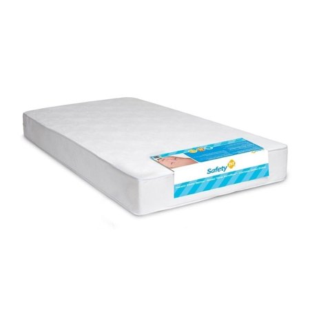 Crib Mattress Safety 1st Heavenly Dreams Waterproof Cover (White)