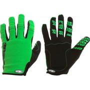 Answer Won Full Finger Glove: Green XL