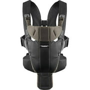 BABYBJORN Baby Carrier Miracle - Black/Brown, Organic Cotton