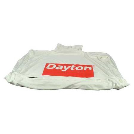 Dacron Filter Bag - Dayton HV2120900G Filter Bag 4.0 cu. Ft