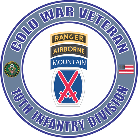 38 Inch Us Army Cold War 10th Mountain Ranger Airborne Division
