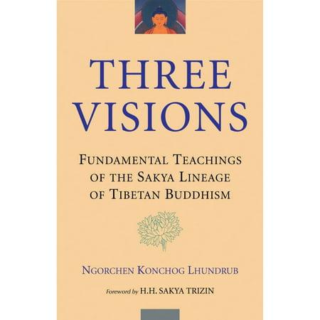 Tibetan Three Metal (Three Visions : Fundamental Teachings of the Sakya Lineage of Tibetan Buddhism )