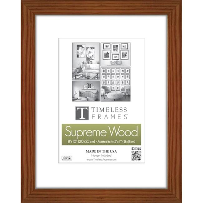 Timeless Frames 73263 Regal Walnut Wall Frame 8 X 12 In