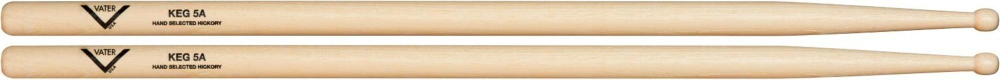 Vater Buy 3 5A Wood Drum Sticks, Get 1 Free KEG 5A by Vater