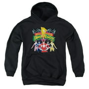 Power Rangers - Rangers Unite - Youth Hooded Sweatshirt - Large
